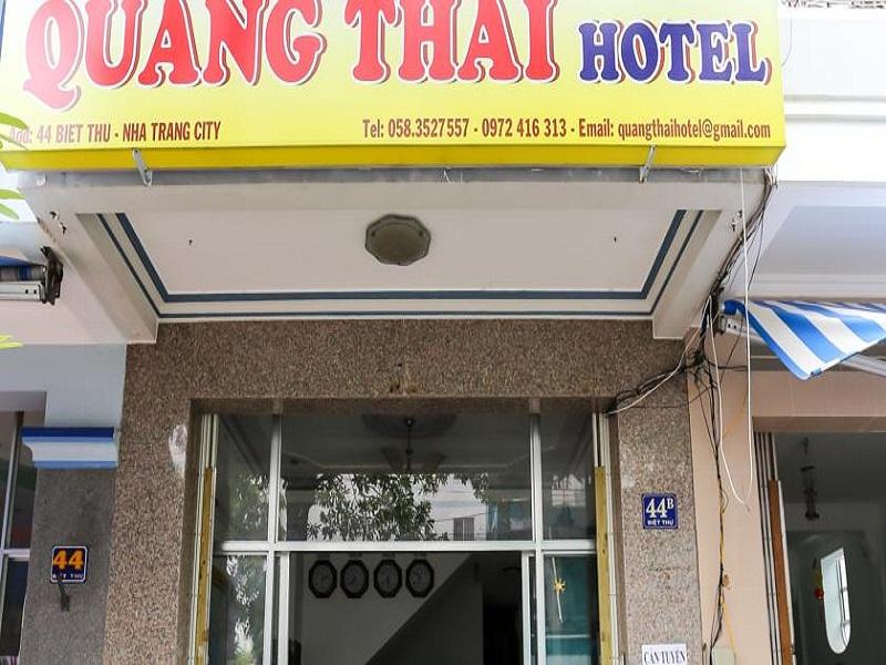 Khách sạn Quang Thái. Khách sạn Đường Biệt Thự Nha Trang