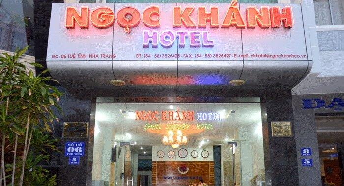 khách sạn ngọc khánh. khách sạn đường tuệ tĩnh nha trang