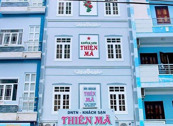 khách sạn thiên mã. khách sạn nha trang gần biển