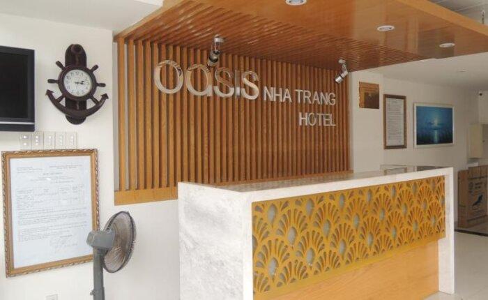 khách sạn oasis. đường trần phú nha trang