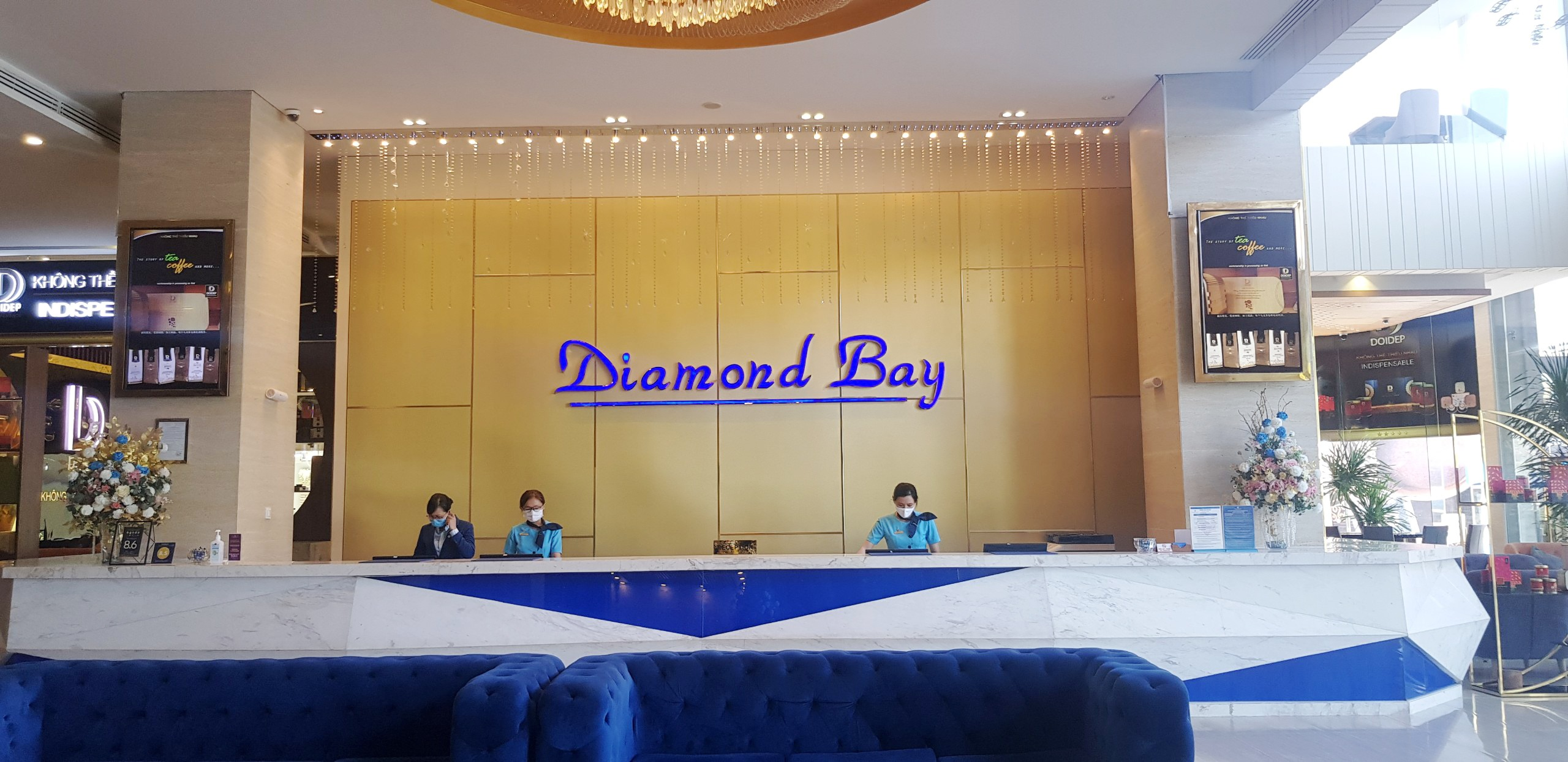 khách sạn diamond bay Nha Trang